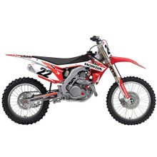 Factory Effex EVO 14 Shroud & Airbox Graphics Kit CRF250 14-17, CRF450 13-17