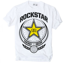 Factory Effex Rockstar Imperial T-Shirt White
