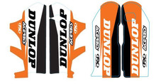 Factory Effex Sponsor lower fork decal KTM SX / EXC / MXC / XC 08-14 (w/Dunlop)
