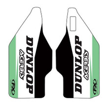 Factory Effex Sponsor lower fork decal KKX250F 17, KX450F 16-17