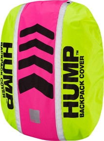 Hump Original HUMP waterproof rucsac cover, safety yellow / pink glo