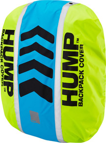 Hump Original HUMP waterproof rucsac cover, safety yellow / atomic blue