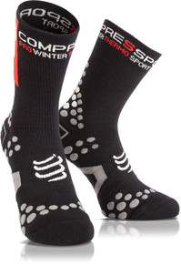 Compressport Winter Bike Socks Black