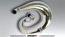 DEP DEPH2911 Chromed Exhaust Pipe CRM250 AR