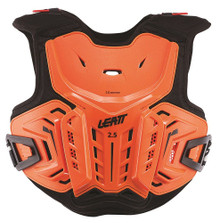 2017 Leatt 2.5 Junior Chest Protector Orange/Black