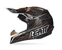 2017 Leatt GPX 6.5 Junior Carbon Helmet Orange/Black/Grey
