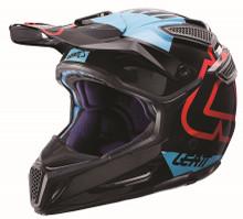 2017 Leatt GPX 5.5 Composite V15 Helmet Black/Blue