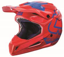 2017 Leatt GPX 5.5 Composite V15 Helmet Red/Blue