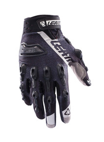 2017 Leatt GPX 5.5 Lite Gloves Black/White
