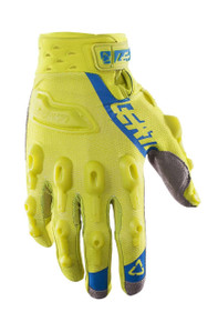 2017 Leatt GPX 5.5 Lite Gloves Lime/Blue