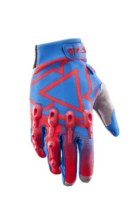 2017 Leatt GPX 4.5 Lite Gloves Red/Blue