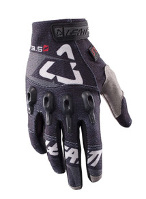 2017 Leatt GPX 3.5 Lite Gloves Black/Grey