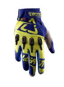 2017 Leatt GPX 3.5 Lite Gloves Blue/Lime