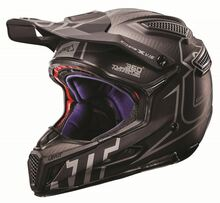 2017 Leatt GPX 6.5 Carbon V16 Helmet Carbon/Silver