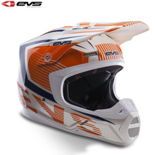 EVS T5 Vector Motocross Helmet Orange/Blue