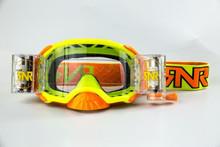 Rip n Roll RipnRoll 48mm WVS Motocross Goggles Platinum Yellow