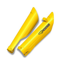 CYCRA FORK GUARDS HUSKY 15 ON YELLOW