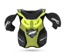 Leatt Fusion 2.0 Junior Neck Vest Green/Black