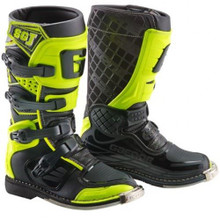 Gaerne SGJ MX Boots Black/Yellow Flou