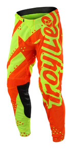 2018 Troy Lee Designs TLD SE Air Pant Shadow Flo Yellow/Orange