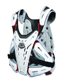 TROY LEE DESIGNS BG5900 CHEST PROTECTOR WHITE YOUTH