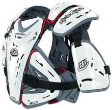 Troy Lee Designs Youth BG5955 Chest Protector/Body Armour White One Size MX