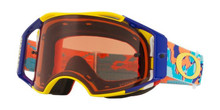 OAKLEY AIRBRAKE GOGGLE THERMO CAMO ORANGE/BLUE- PRIZM BRONZE LENS