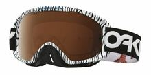 Oakley O Frame 2.0 Goggles Factory Pilot White Bengal w/Black Iridium & Clear Lens