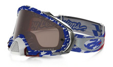 OAKLEY MAYHEM PRO GOGGLE TLD GLORY RED/WHITE/BLUE- PRIZM BLACK IRIDIUM LENS