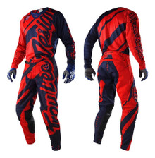 2018 Troy Lee Designs TLD SE Air Combo Shadow Red/Navy