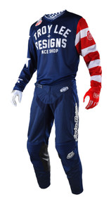 2018 Troy Lee Designs TLD GP Air Combo Americana Navy