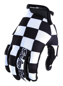 2018 Troy Lee Designs TLD Air Gloves Checker Black/White