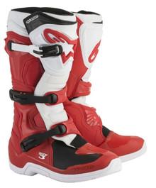 Alpinestars Tech-3 Motocross Boots Red/White