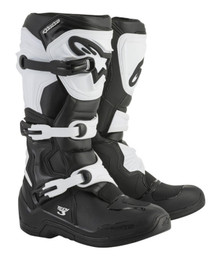 Alpinestars Tech-3 Motocross Boots Black/White