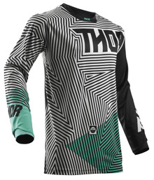 2018 Thor Pulse Jersey Geotec Black/Teal