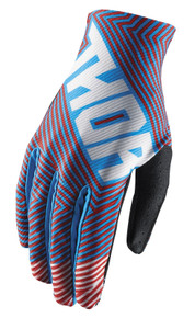 2018 Thor Void Gloves Geotec Blue/Red