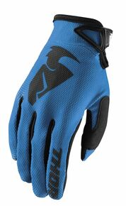 2018 Thor Sector Gloves Blue