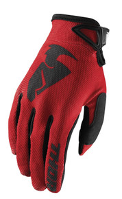 2018 Thor Sector Gloves Red