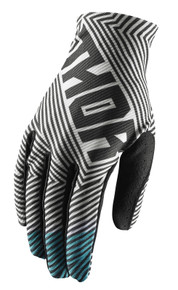 2018 Thor Youth Void Gloves Black/Teal