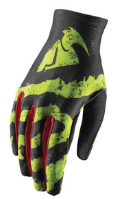 2018 Thor Youth Void Gloves Rampant Lime/Red