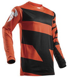 2018 Thor Youth Pulse Jersey Level Black/Orange