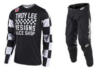 2018 Troy Lee Designs TLD GP Combo Checker Black