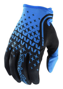 2018 Troy Lee Designs TLD XC Gloves Megaburst Blue/Black