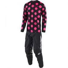 2018 Troy Lee Designs TLD Youth GP Combo Polka Dot Black/Flo Pink