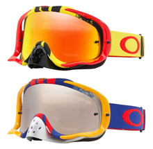 Oakley Crowbar Pinned Race MX Goggles