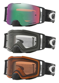 Oakely Front Line Matte Black MX Goggles