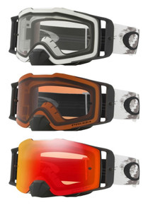 Oakely Front Line Matte White MX Goggles