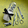 Damask Manicure Set Favor