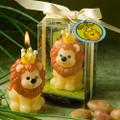 King of the Jungle Candle Favor