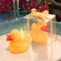 Yellow Duck Candle Favor